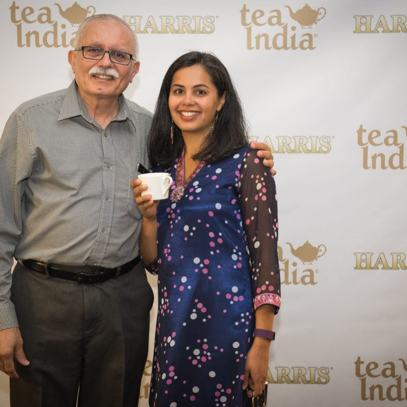 date with my dad, harris tea, tea india, yvr events, pink chai media, taslim jaffer