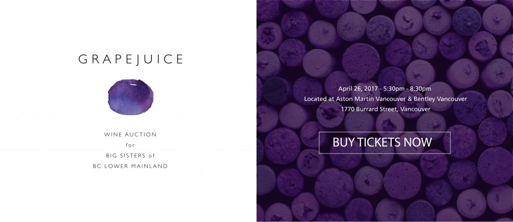 grape juice event, big sisters of bc lower mainland, fundraiser, charity, vancouver charity, taslim jaffer