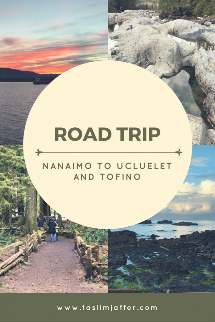 Thinking of taking a road trip from Nanaimo to Ucluelet and Tofino? Here are some stops we made along the way that really added fun and adventure to our trip!