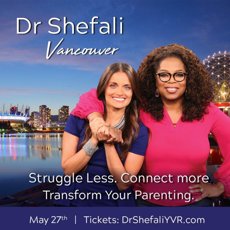 Dr. Shefali, Oprah, conscious parenting